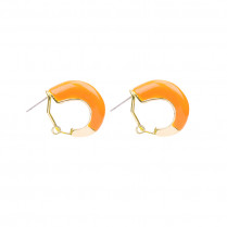 Earrings Colorful Hoops