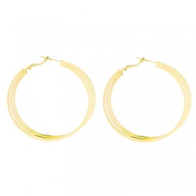 Earrings Triple Hoops