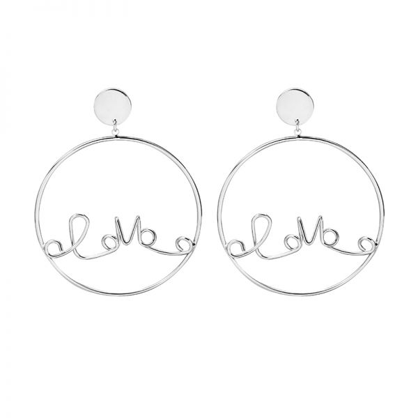 Boucles d'oreilles Locked Love