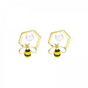 Earrings Sweet Bee