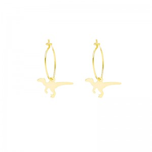 Earrings Basic Dino