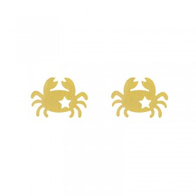 Earrings Crabby Crab