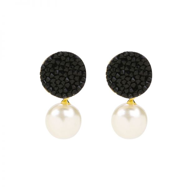 Earrings Glitter & Pearl