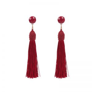 Earrings Let Me Be Your Tassel
