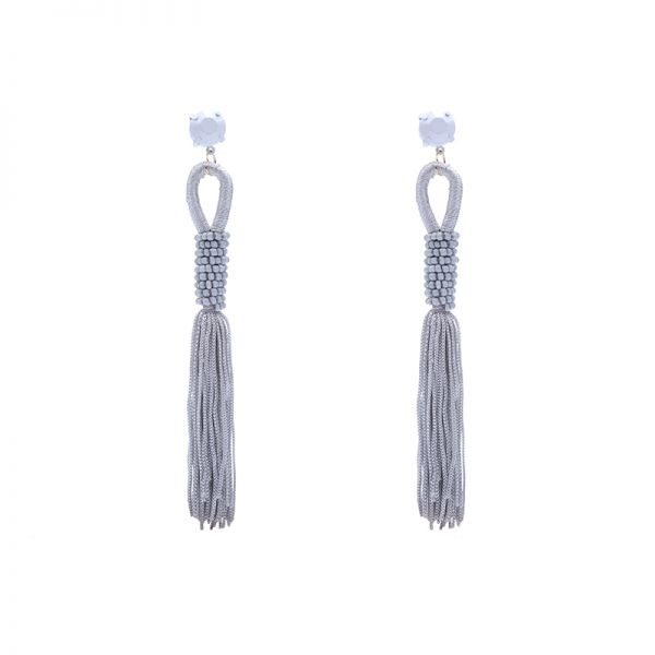 Earrings Love Tassel