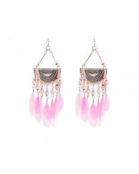 Earrings Love for Feathers