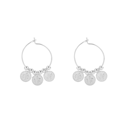 Earrings Tiny Coins