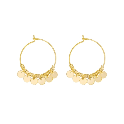 Earrings Dancing Rounds