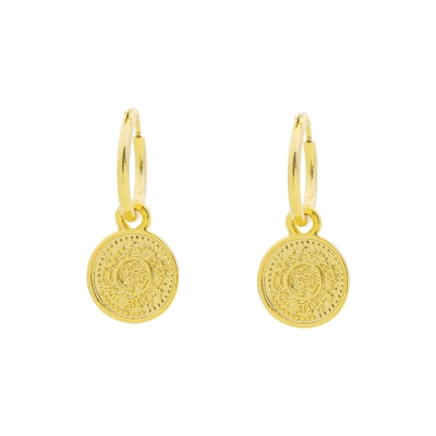 Earrings Lucky Coin II
