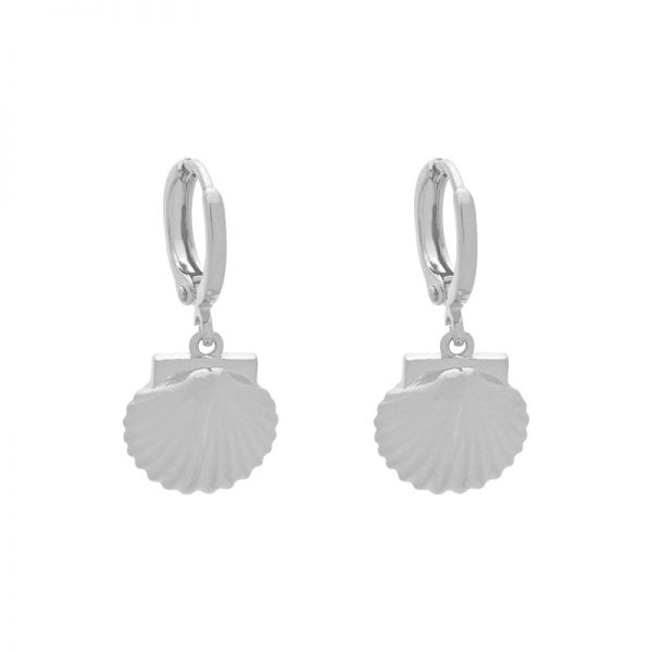 Earrings Seashell
