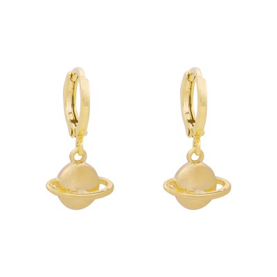 Earrings Saturn