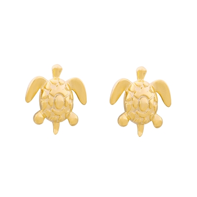 Earrings Turtle