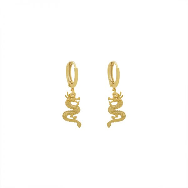 Earrings Chinese Dragon