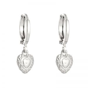 Earrings romantic love