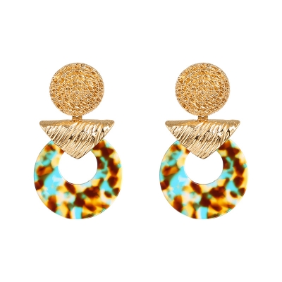 Earrings Exotic Contrast