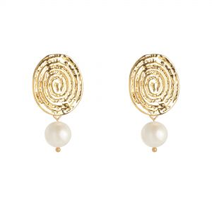 Earrings Pearl Lady