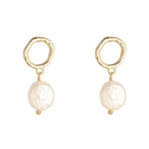 Earrings Shiny Pearl