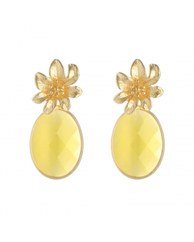 Earrings Tropical Flower