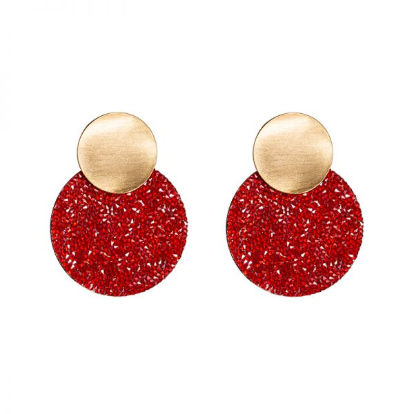 Earrings full shimmer