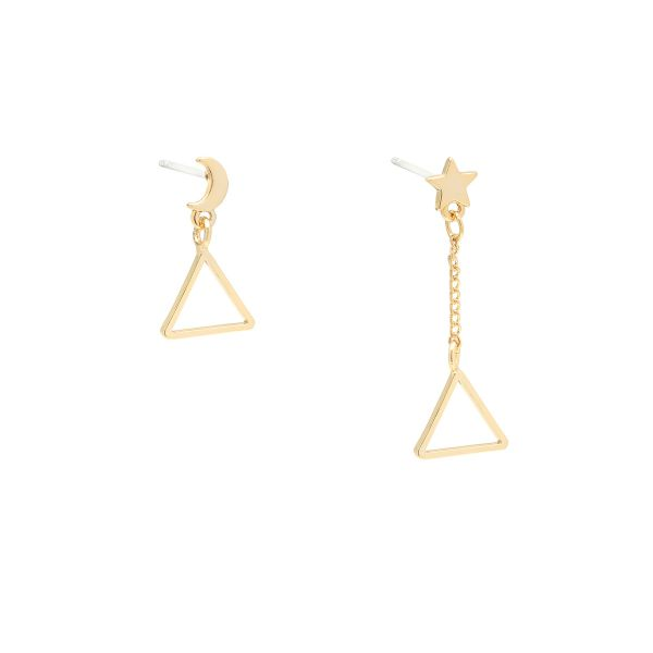 Boucles d'Oreilles Triangular Space
