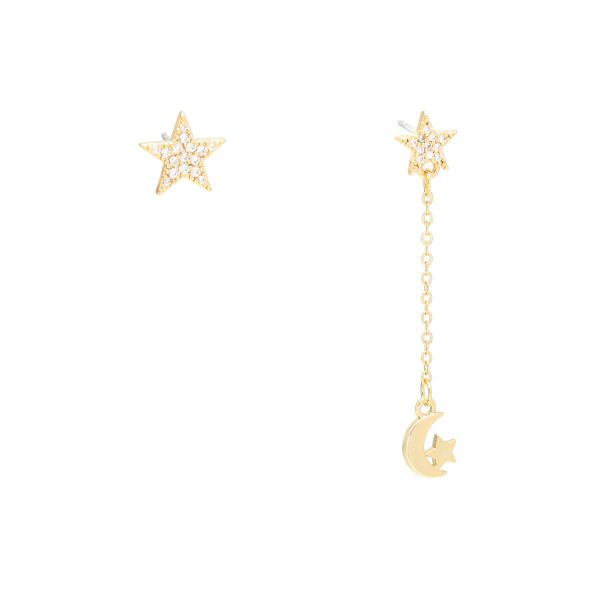 Boucles d'Oreilles Fly to the Moon