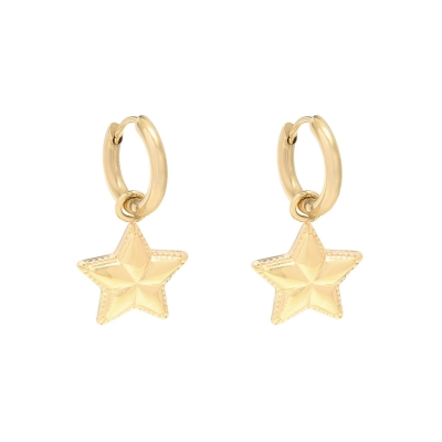 Boucles d'oreilles You are my Little Star
