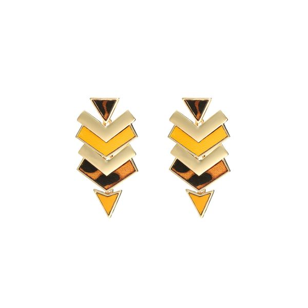 Earrings Triangle Arrow