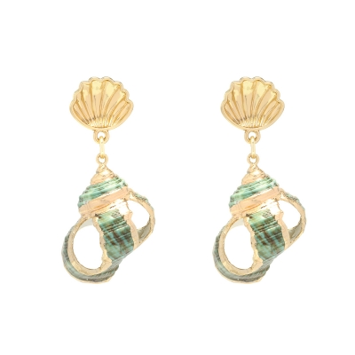Earrings Ariel's Seashell