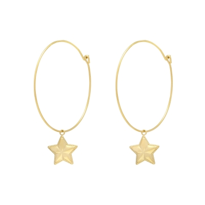 Boucles d'oreilles Put Star in my Hand