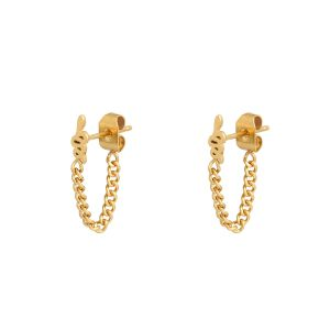 Boucles d'oreilles Snake and Chain