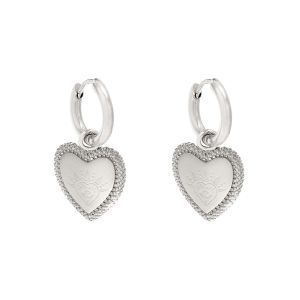 Boucles d'Oreilles Heart with Vision