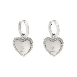 Earrings Heart with Vision