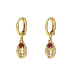 Earrings bora bora