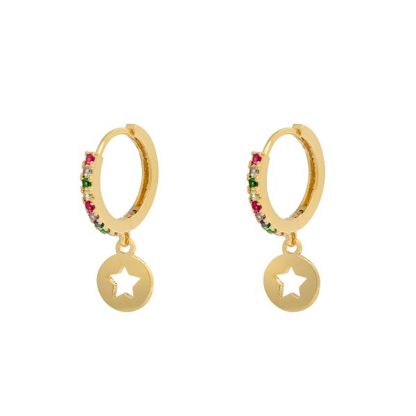 Earrings Shiny Star