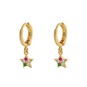 Earrings Sparkle Star