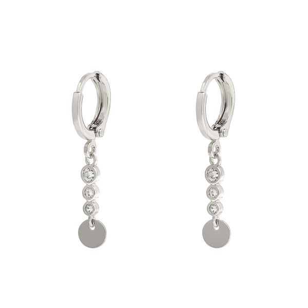 Earrings Sparkle and Circle