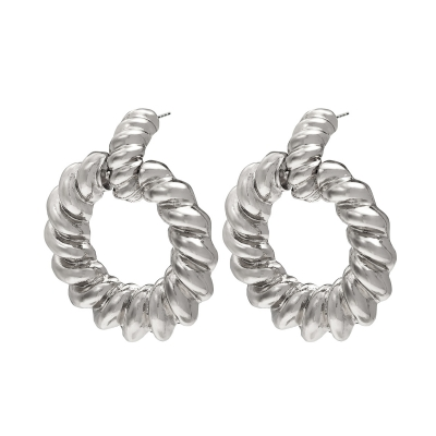 Oorbellen Twisted Hoops