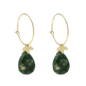 Earrings Natural Drop