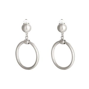 Earrings round and rounder - small