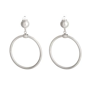 Clip earrings round and rounder - medium