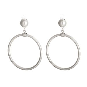 Earrings round and rounder - large