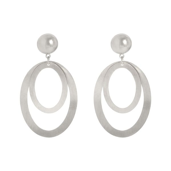 Oorbellen double hoops