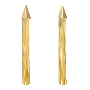 Earrings Metal Tassle