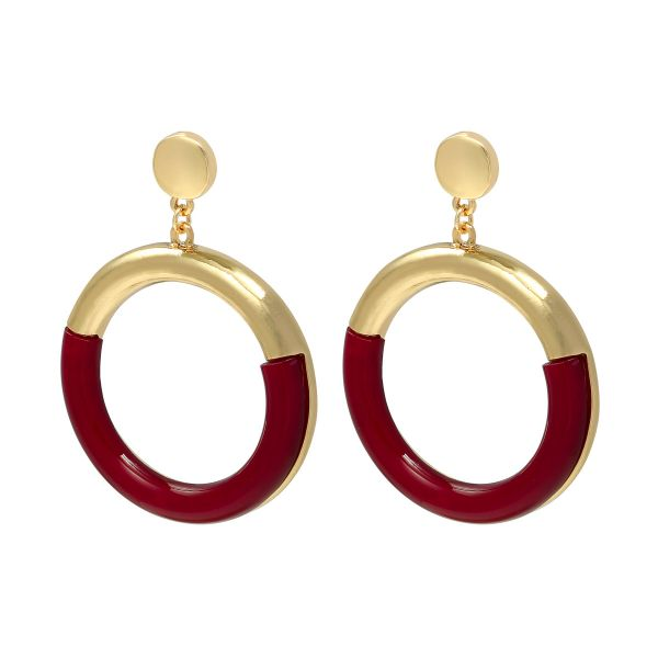 Aretes colorful hoops