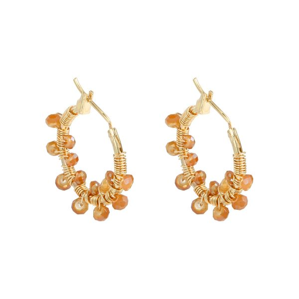Boucles d'oreilles Colorful Crystal Beads
