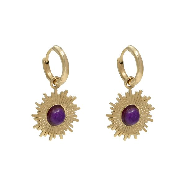 Earrings Mystic Sun