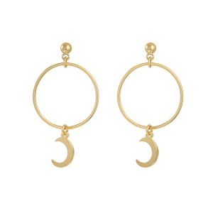 Earrings Around The Moon