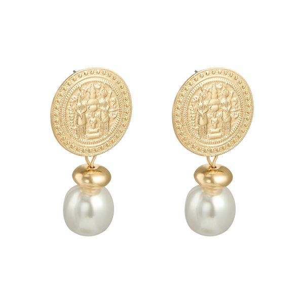 Earrings Glamorous coin