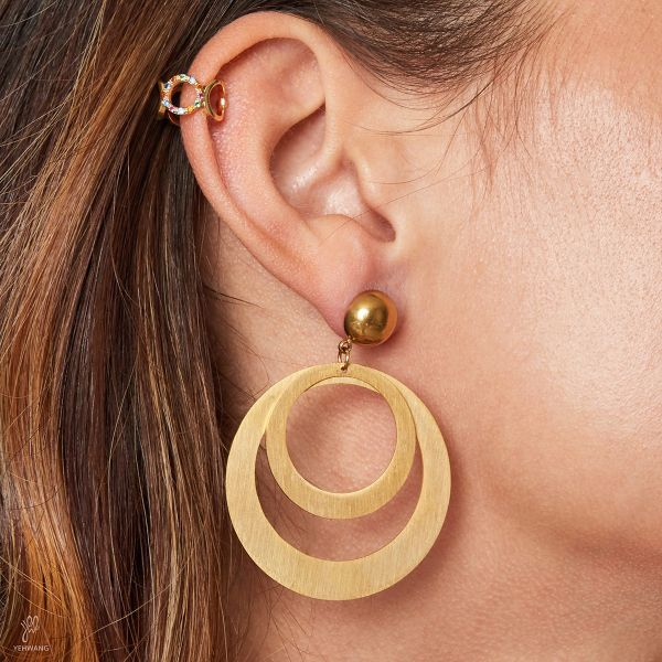 Boucles d'oreilles What the Hoop