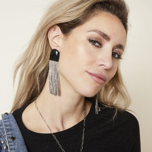 Boucles d'Oreilles Night Time